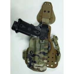 Huron complete holster, Long's shadow holster