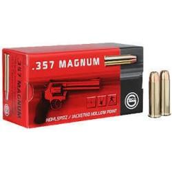 Geco .357 Magnum 158gr FMJ-FP 50 kpl
