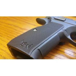 Henning Group Contour Checkered Grips CZ Shadow 2
