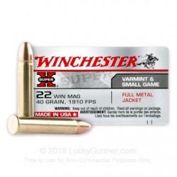Winchester .22 Magnum 40gr