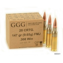 GGG .308 Winchester 147gr FMJBT