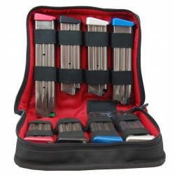 CED/DAA 8- Pack Deluxe Zippered Magazine Storage Case