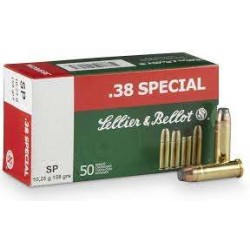 .38 Special Sellier & Bellot 158gr SP