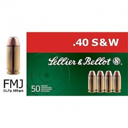 Selleir & Bellot .40 S&W 180gr FMJ