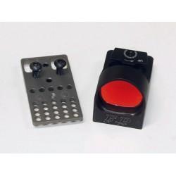 Finn Precision Champion Red Dot Sight 6 moa ja Uronen Precision CZ Shadow jalusta kombo