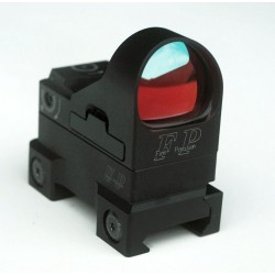 Finn Precision Champion Red Dot Sight ja Uronen Precision AR-15 Mount kombo