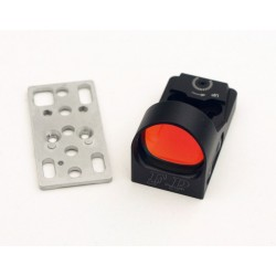 Finn Precision Champion Red Dot Sight 6 moa ja Uronen Precision CZ Shadow OR jalusta kombo