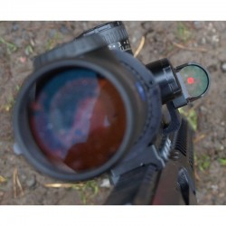 Uronen Precision scope mount and Finn Precision Red Dot Sight combo