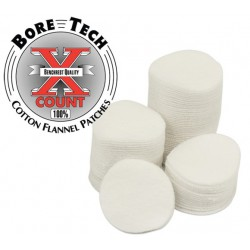 Bore Tech cleaning patches, round