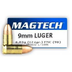 Magtech 9mm patruuna, 8g FMJ