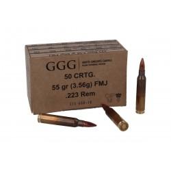 GGG .223Rem, 3,6g (55gr) FMJ