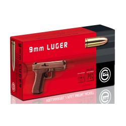 Geco 9mm 8g FMJ, 50rnd / box