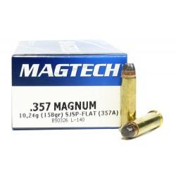 Magtech .357Mag, 10,24g (158gr), SJSP-FLAT