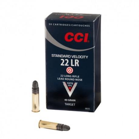 CCI Standard Velocity 22LR patruuna