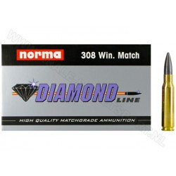 .308 Win Match Norma Diamond Line 12.4g ( 190gr)