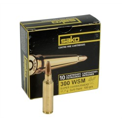 Sako Super hammerhead .300 WSM 11.7 g / 180gr
